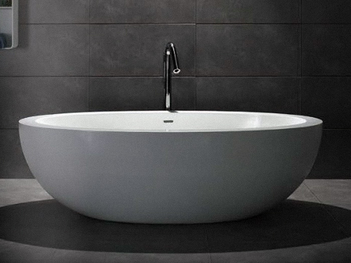 Black Stone Bath : ... Freestanding Lightweight Stone Bath iBath NZ Soak in Style
